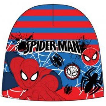 Chlapčenská teplá čiapka Spiderman - červeno / modrá