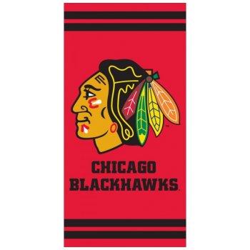 Hokejová bavlnená osuška NHL Chicago Blackhawks