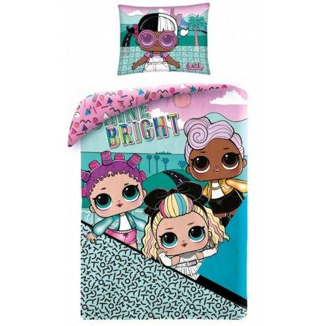 Bavlnené posteľné obliečky L.O.L. Suprise - Shine bright