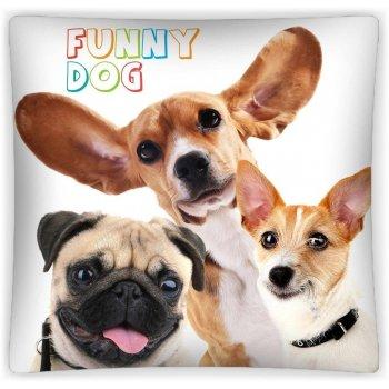 Povlak na vankúš Funny dog