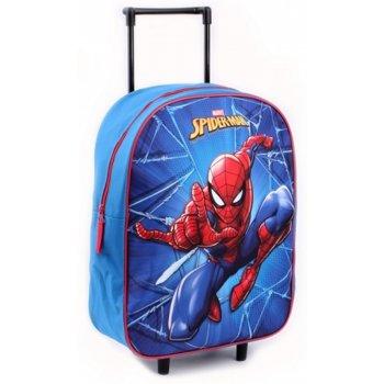 Detský cestovný kufor na kolieskach Spiderman