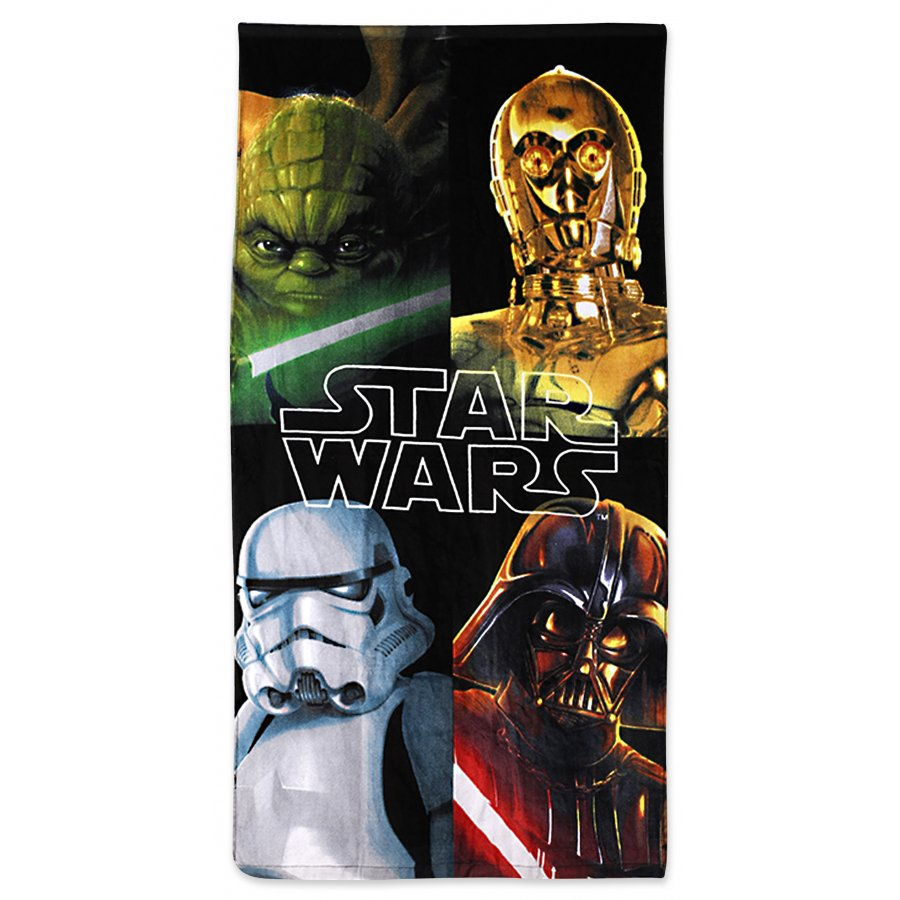 Plážová osuška Star Wars - Hviezdne vojny