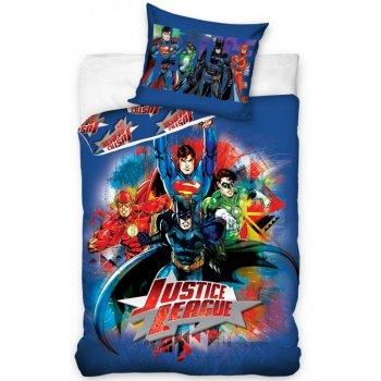 Bavlnené posteľné obliečky Liga spravodlivosti - Justice League