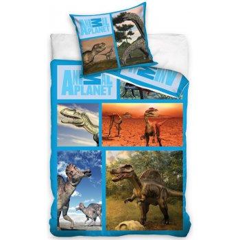 Bavlnené posteľné obliečky Animal Planet - Dinosaury