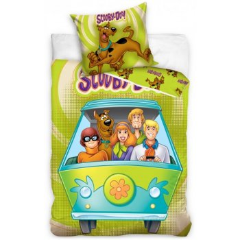 Bavlnené posteľné návliečky Scooby-Doo