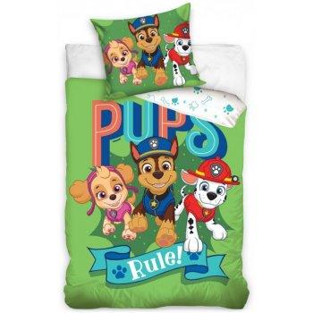 Obliečky do detskej postieľky Paw Patrol - Pups Rule!