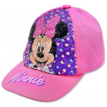 Dievčenská šiltovka Minnie Mouse - Disney s preklápacími flitrami