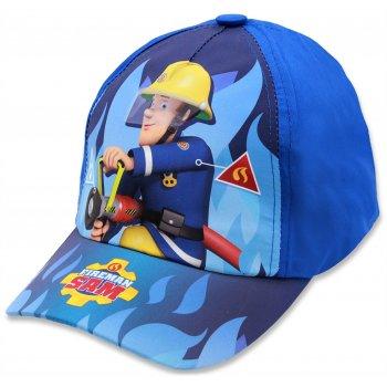 Chlapčenská šiltovka Požiarnik Sam - sv. modrá