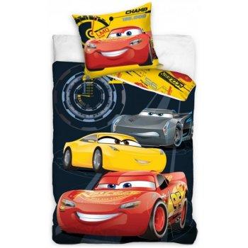 Detské posteľné obliečky Autá 3 - Tajní agenti