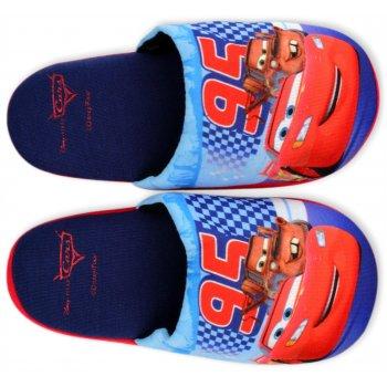 Chlapčenské papuče Autá - Blesk McQueen - tmavé