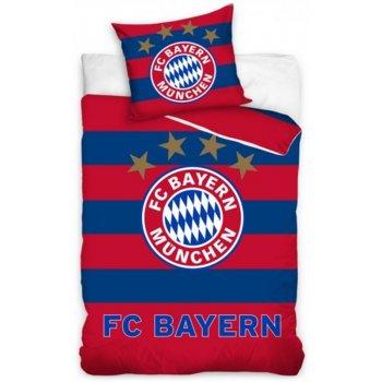 Futbalové posteľné obliečky FC Bayern Mnichov