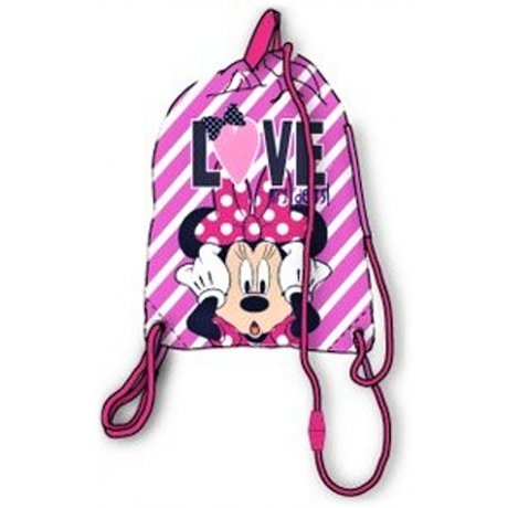 Vrecko na prezúvky Minnie Mouse - Love my dots!