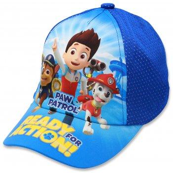 Chlapčenská šiltovka Paw Patrol - sv. modrá