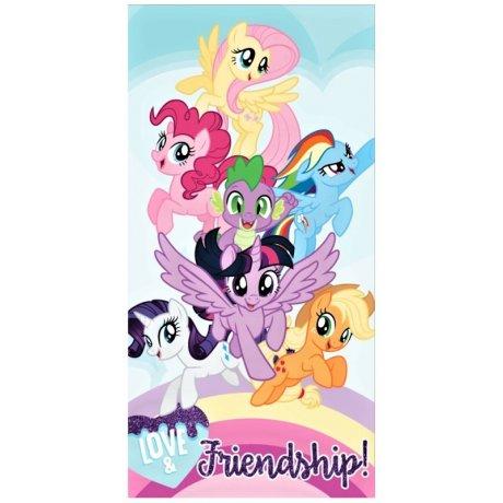 d9bc12b4e78e Plážová osuška My Little Pony - Love   Friendship!