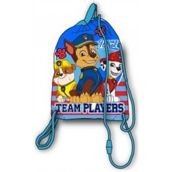 Vrecko na prezúvky Paw Patrol - Team players