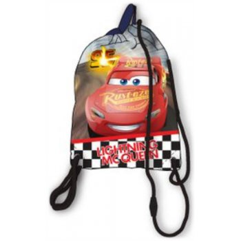 Vrecko na prezúvky Autá - Cars - Lighting McQueen