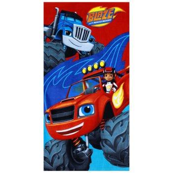 Plážová osuška monster truck Plamienok - Blaze