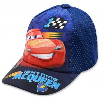 Chlapčenská šiltovka Cars - Blesk McQueen - modrá