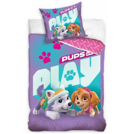 10fdd959b Bavlnené posteľné obliečky Paw Patrol - Pups at Play