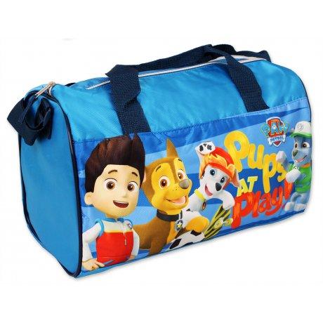 Športová taška Paw Patrol - sv. modrá