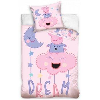 Obliečky do detskej postieľky Prasiatko Peppa - Dream
