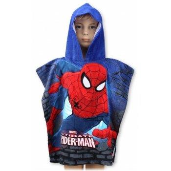 Pončo - osuška s kapucňou Spiderman - MARVEL