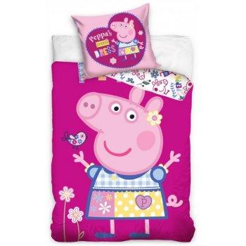 Detské posteľné obliečky Prasiatko Peppa modelka