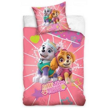 Bavlnené posteľné obliečky Paw Patrol - Sitive vibes!
