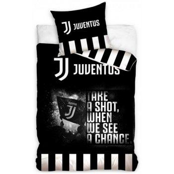 Bavlnené posteľné obliečky Juventus FC - Take a shot
