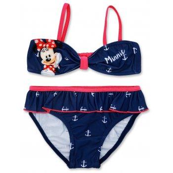 Dievčenské dvojdielne plavky Minnie Mouse - modré