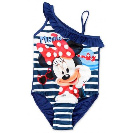 a34e7e8ed Dievčenské jednodielne plavky Minnie Mouse - modré