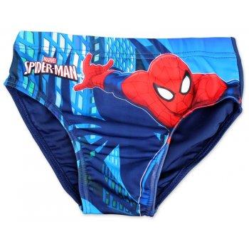 Chlapčenské slipové plavky Spiderman - modré