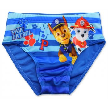 Chlapčenské slipové plavky Paw Patrol - sv. modré