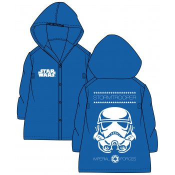 Detská pláštenka Star Wars - Stormtrooper - sv. modrá
