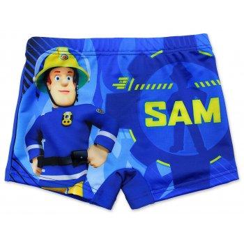 Chlapčenské plavky boxerky Požiarnik Sam - sv. modré