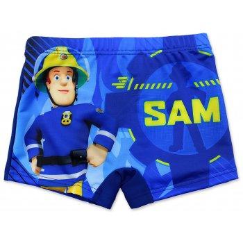 Chlapčenské plavky boxerky Hasič Sam - tm. modré