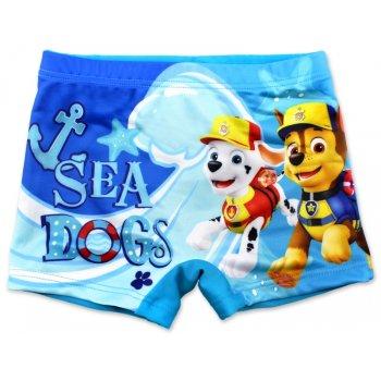 Chlapčenské plavky boxerky Paw Patrol - sv. modré