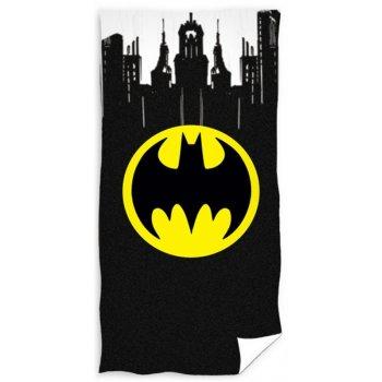 Bavlnená plážová osuška Batman - Gotham City