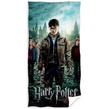 Bavlnená plážová osuška Harry Potter