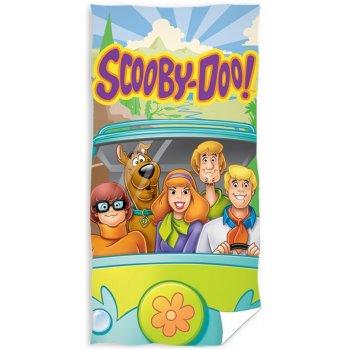 Bavlnená plážová osuška Scooby Doo na cestách