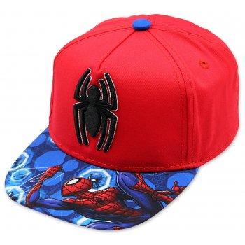 Hip Hop šiltovka Spiderman - červená