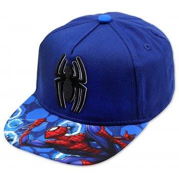 Hip Hop šiltovka Spiderman - modrá