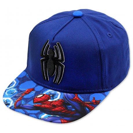 fb21659a7 Hip Hop šiltovka Spiderman - modrá