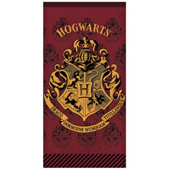 Bavlnená plážová osuška Harry Potter - Hogwarts