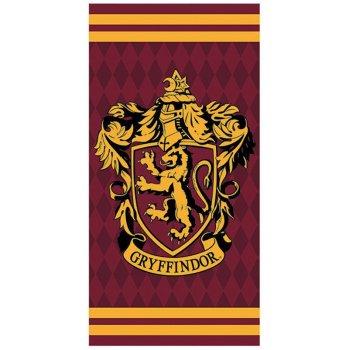 Bavlnená plážová osuška Harry Potter - Gryffindor