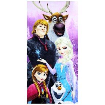 Plážová osuška Ľadové kráľovstvo - Frozen