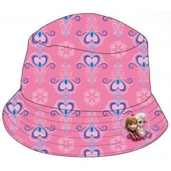 Dievčenský klobúk Ľadové kráľovstvo - ružový