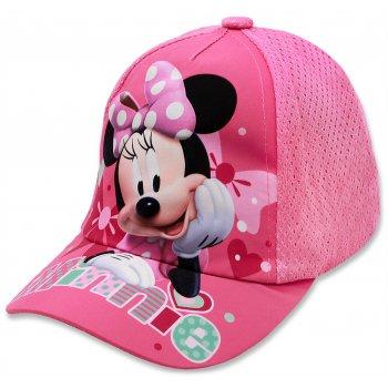 Dievčenská šiltovka Minnie Mouse - Disney - sv. ružová