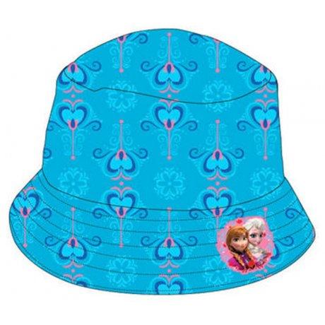 Dievčenský klobúk Ľadové kráľovstvo - tyrkysový