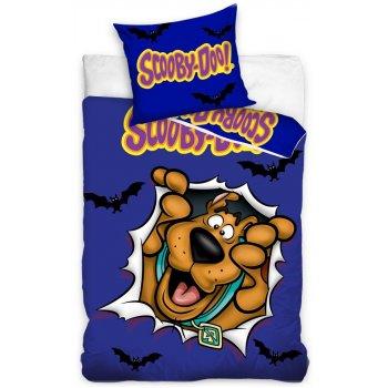"""Bavlnené posteľné návliečky Scooby-Doo - motív """"kuk"""""""